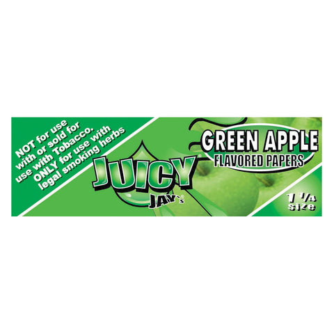 Juicy Jay's Green Apple Flavored Rolling Papers