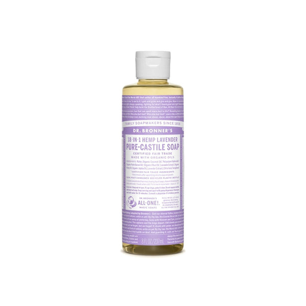 Lavender Dr. Bronner's 18-in-One Liquid Soap