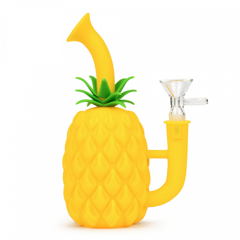 Silicone Pineapple Water Pipe