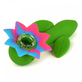 Flower Power Silicone Hand Pipe