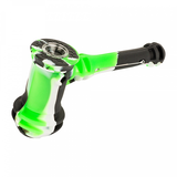 Lit Silicone Hammer Bubbler Pipe
