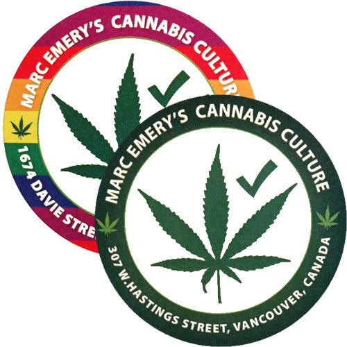 Cannabis Culture Lounge Sticker Pack