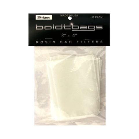 Pack of 10 - Boldtbags Medium Rosin Bag Filter