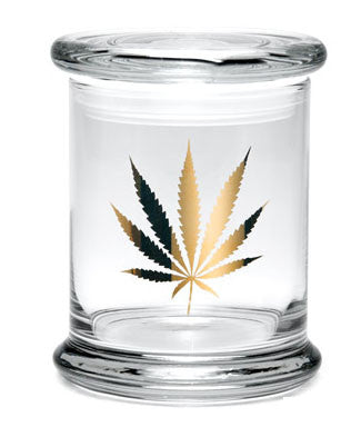 Large Pop-Top 420 Jar - Available in a Variety of Styles