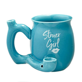 Coffee Mug Pipe - Stoner Girl