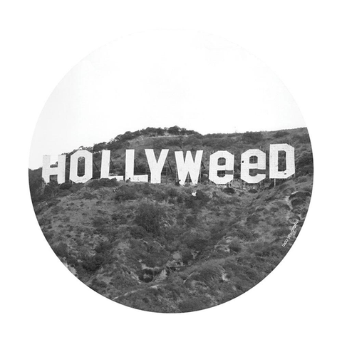 Hollyweed (Glow-in-the-Dark) - My Dab Mat