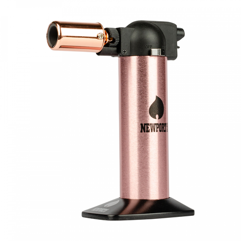 "Metallic 6"" Newport Butane Torch"