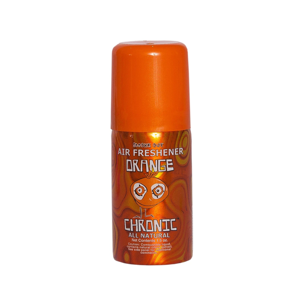 Orange Chronic Smoke Out Air Freshener