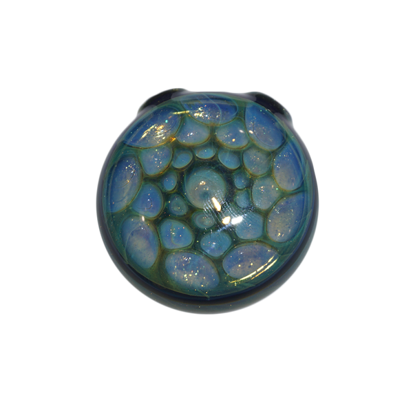 Fumed Glass Pendant by Rob Biglin