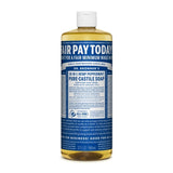 Peppermint Dr. Bronner's 18-in-One Liquid Soap