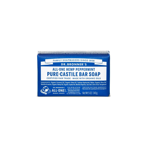 Peppermint Dr. Bronner's Pure-Castile Bar Soap