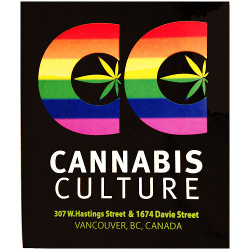 Cannabis Culture Pride Sticker