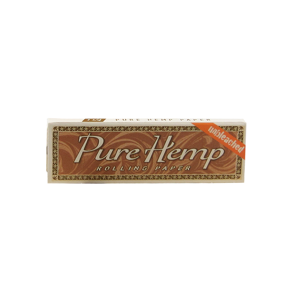 Pure Hemp Unbleached Rolling Papers - 1¼ Size