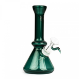 Beaker Tube Bubbler by Red Eye Glass
