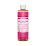 Rose Dr. Bronner's 18-in-One Liquid Soap