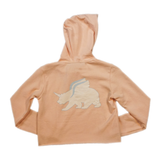 Unicorn Bear Crop Hoodie by seedleSs