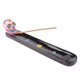 Sugar Skull Incense Holder