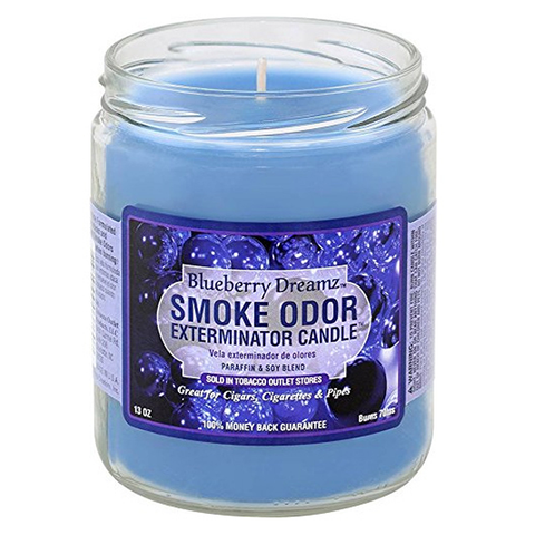 Smoke Odor Exterminator Candle - Blueberry Serenity