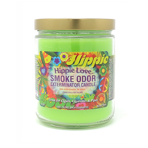 Smoke Odor Exterminator Candle - Hippie Love