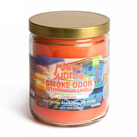 Smoke Odor Exterminator Candle - Miami Sunrise