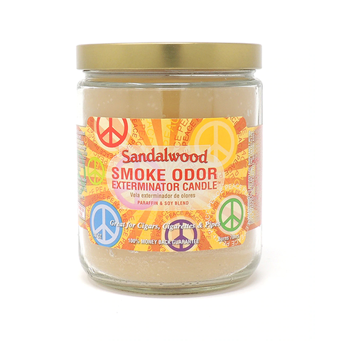 Smoke Odor Exterminator Candle - Sandalwood