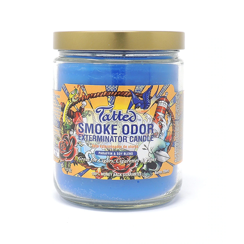 Smoke Odor Exterminator Candle - Tatted