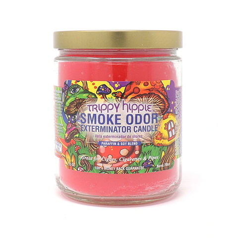 Smoke Odor Exterminator Candle - Trippy Hippie