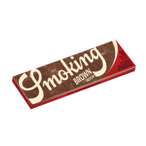 Smoking Brown Rolling Papers - 1¼ Size
