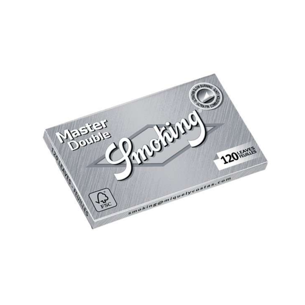 Smoking Master Rolling Papers - Single Wide Double Window