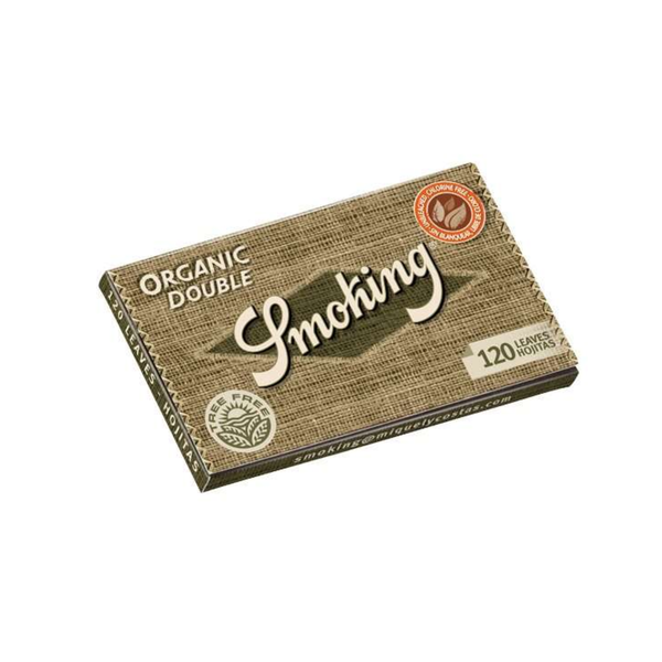 Smoking Organic Rolling Papers - Single Wide Double Window