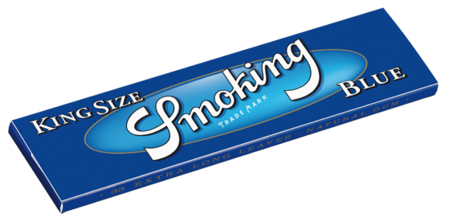 Smoking Blue Rolling Papers King Size