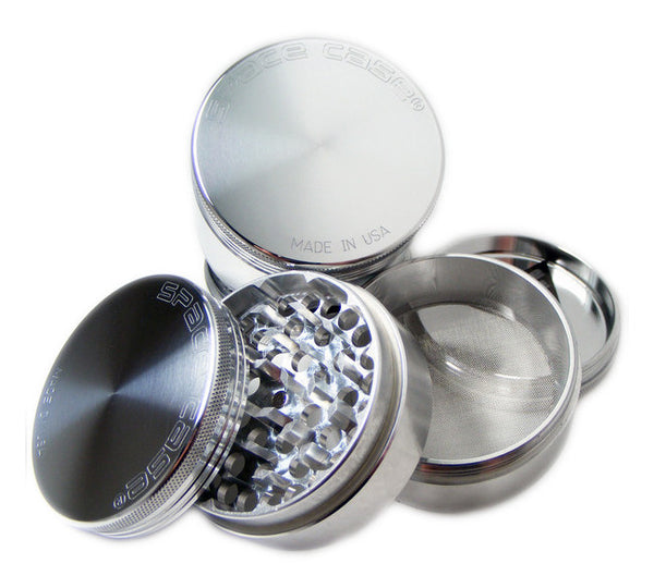 Space Case Aircraft Aluminum Herb Grinder 4 Piece Magnetic