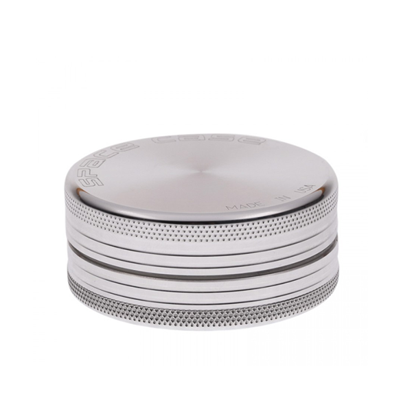 Space Case Aircraft Aluminum 2 Piece Magnetic Herb Grinder