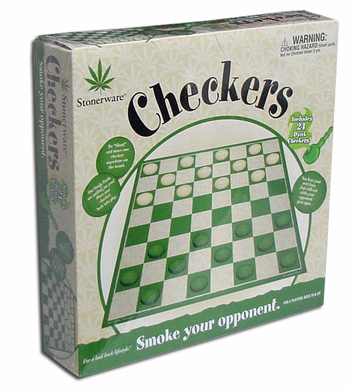 Stonerware Checkers Game