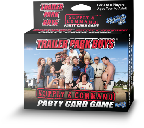 Trailer Park Boys Supply & Command Party Card Game
