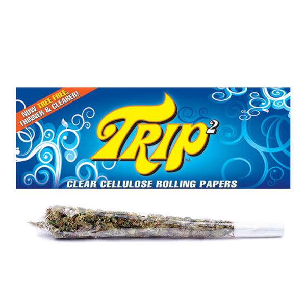 Trip2 Clear Rolling Papers - King Size