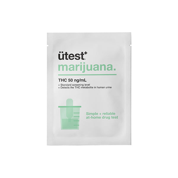 ÜTest+ Marijuana Strip Test (50ng/ml)