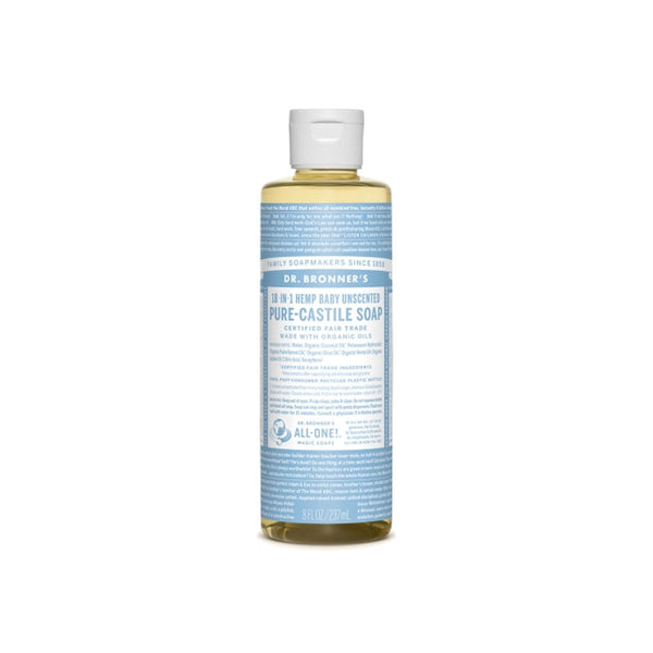 Baby/Unscented Dr. Bronner's 18-in-One Soap