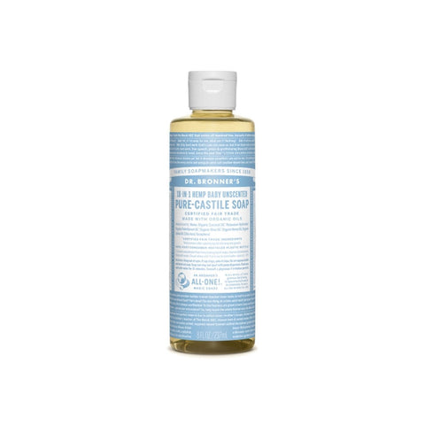 Baby Unscented Dr. Bronner's 18-in-One Soap