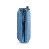 "Plush Tube Bag - 12"" Woven Fabric"