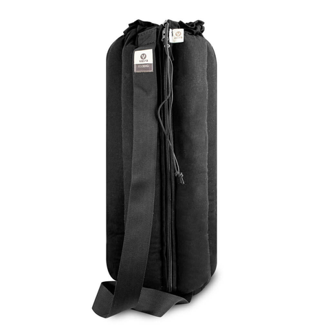 "Plush Tube Bong Bag - 18"" Black Hemp"