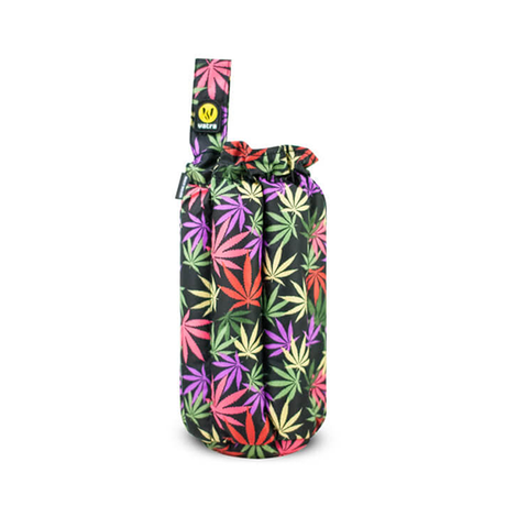 "Plush Tube Bag - 8"" Leaves"