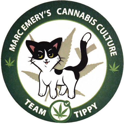 Team Tippy the Cat Sticker