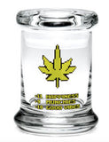 X-Small Pop-Top 420 Jar - Available in a Variety of Styles
