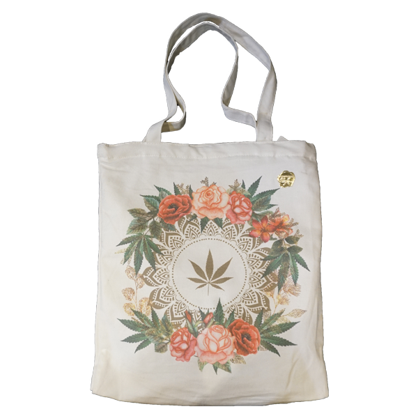 Rose Buds & Flowers Tote Bag by Fashionably High