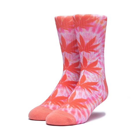 HUF Digital Dye Plantlife Sock in Canyon Sunset