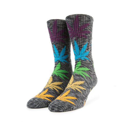 HUF Melange Plantlife Sock in Grey