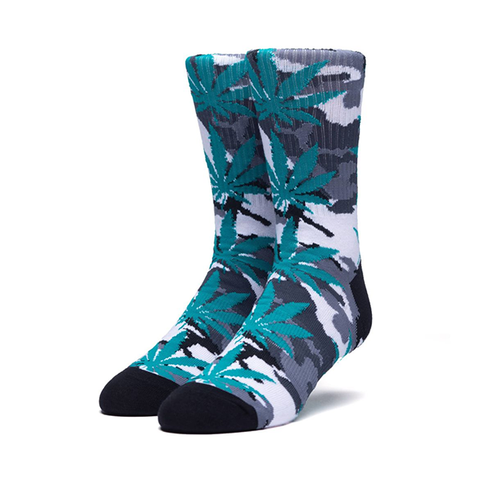 HUF Camo Plantlife Sock in White