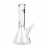 "Extra Thick Glass 12"" Tall Beaker Bong"