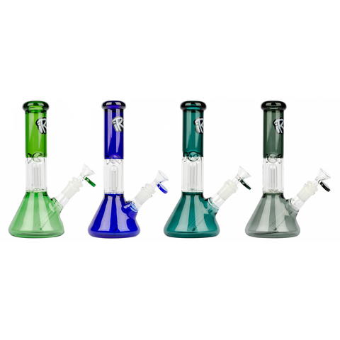 "iRie 10"" Beaker Based Bong with Dome Percolator"